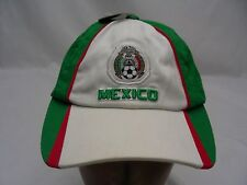 MEXICO FUTBOL - EMBROIDERED - ADJUSTABLE BALL CAP HAT!