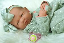 Preemie Berenguer La Newborn Doll + Extras Accessories Lifelike Alive Pacifier