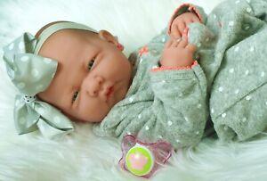 Preemie Berenguer La Newborn Doll + Extras Accessories Lifelike Alive Pacifier