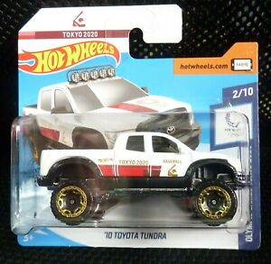 Hot Wheels 2020 Olympic Games Tokyo 2020 183/250 '10 Toyota Tundra ( White )