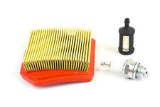Kit Fits Stihl Trimmers FS240 FS260 FS360 FS410 FS460 Air Fuel Filter Spark Plug