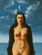 Rene Magritte Dress Galatea giclee 8X12 canvas print Reproduction of painting