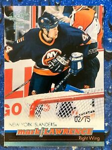 1999-00 Pacific Ice Blue Mark Lawrence #257 02/75