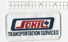 Sokil Transportation Services  truck driver patch  (G2G3)