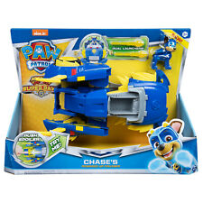 Paw Patrol Chase's Powered Up Police Cruiser Transforming Vehicle & Figure New!