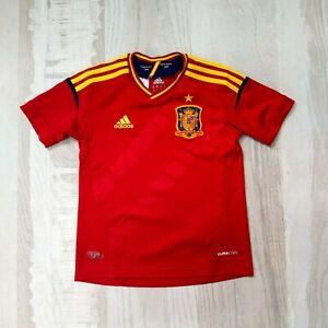 Spain Home football shirt 2012 - 2013 Adidas X16881 Jersey trikot size kids xs