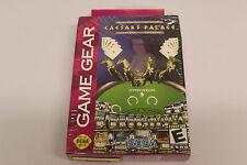 Caesars Palace (Sega Game Gear, 2000) - New / Sealed