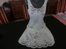 jolie combinaison & fond de robe vintage jolie dentelle taille  40/42 ref 39L9