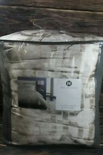Hotel Collection Fresco Gold Woven Jacquard Geometric FULL/QUEEN Comforter $485
