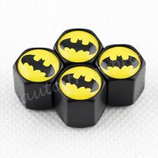 Wheel Valve Tyre Tire Caps Holder Dust Cover Batman Car Accessories Truck Parts