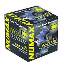 BRAND NEW NUMAX 1 X  6N11A3A1 6V 6 VOLT CLASSIC MOTORBIKE BATTERY WITH ACID PACK