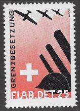 Switzerland Soldier stamp: Fliegerab/Air Defense, FLAB #15: Flab.Det.25 - sw601b