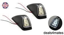 2X CAB 8 SMD WHITE LED MARKER LIGHT SPECIFIC FOR MERCEDES ACTROS ATEGO AXOR