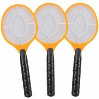 3 Stück elektrische Fliegenklatsche Fliegenfalle Mücken-Falle Insektenvernichter