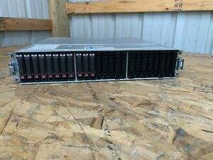 HP Q1J29A MSA 2050 SAS SFF Storage Array Barebones w/ PSU's