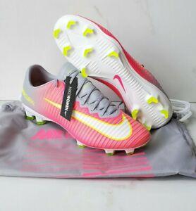 Nike Mercurial Vapor XI FG Women's Sz 7.5 Soccer Cleats Hyper Pink 844235-611