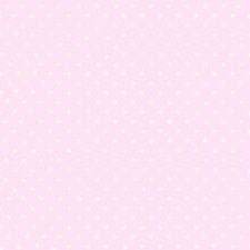 Debona Cutie Polka Dots Baby Pink Wallpaper - 6321