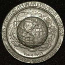 1964 - 1965 NEW YORK WORLD'S FAIR 300TH ANNIVERSARY OF CITY COIN MEDAL TOKEN NY