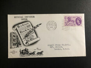 GB 7th July 1960 General Letter Office First Day Cover