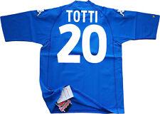 MAGLIA TOTTI KAPPA ITALIA EURO 2000 87%13% *NEW* L 20 player issue SHIRT