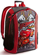 Disney Store Pixar Cars McQueen Mater Backpack NEW