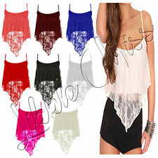 Women's Strappy, Spaghetti Strap Polyester Party Tops & Shirts