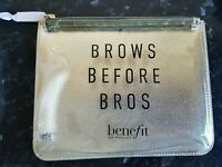 Benefit Cosmetics Make Up Bag New Great 4 Holiday Toiletries WITH  FREE GIFT!