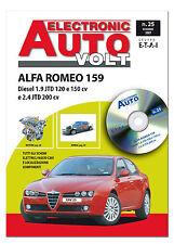 Diagnosi auto - Manuale tecnico - schemi elettrici - Alfa Romeo 159