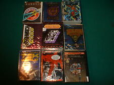 1993/95 PYRAMID, FLEER, MAJESTIC, 9 NON-SPORTS COMIC CARD SETS