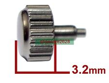 5 Sets Stainless Steel Screw Crown Tube Set 5.3mm For ETA 2824 Movement