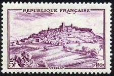 "FRANCE TIMBRE STAMP N°759 ""VEZELAY 5F"" NEUF XX TTB"