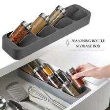 8 Schubladen Gewürzregal Gewürz Aufbewahrungsbox Küchenregal Organizer