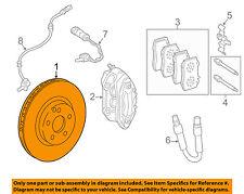 MERCEDES OEM 13-15 G63 AMG Front Brake-Disc Rotor 4634210712