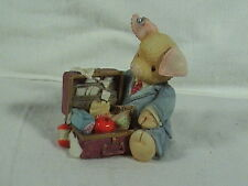 Enesco This Little Piggy Pig Business Mary Rhyner Nadig 1995