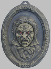 Animated Talking Portrait Hanging Haunted House Halloween Prop Light up Eyes