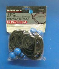 Task Force 8 pc. 12in. Light-Duty Canopy Ties 107734