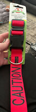 Dexil Colour Coded Dog Awareness Collar Red Caution