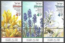 Israel Stamps MNH With Tab Year 2019 Autumn Flowers
