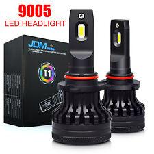 2x 2018 LED Headlight Kit 9005 HB3 60W 10000LM High Low Beam 6000K White Bulbs