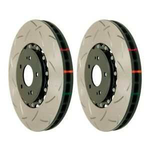 DBA Front 5000 Slotted Brake Rotors (Pair) For Nissan 370Z Sport / G37 Sport