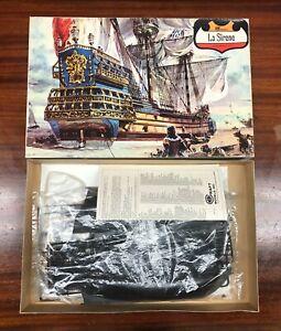 Vintage Minicraft La Sirene Battleship Plastic Model Kit 142:800 Scale w/box