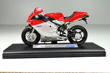 WELLY TRIUMPH TIGER 800 Moto 1/18 - Blanc (12835)