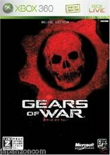 Used Xbox 360 Gears of War MICROSOFT JAPAN JP JAPANESE JAPONAIS IMPORT