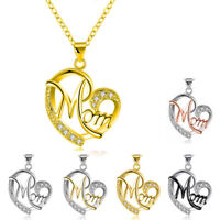 Platinum  Diamond  Plated  Women's  Mother's Day  Gift  Necklaces Sets  Fashion