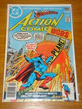 ACTION COMICS #487 DC NEAR MINT CONDITION SUPERMAN SEPTEMBER 1978