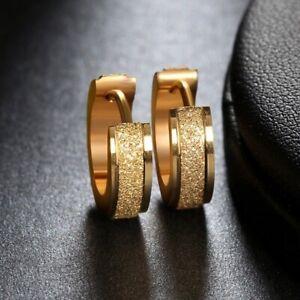 Stainless Steel Womens Mens Kids Hoop Earrings Huggie Earrings CZ Piercings 18G