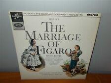 Mozart . The Marriage of Figaro - Highlights . Giulini . Columbia SAX 2573 LP