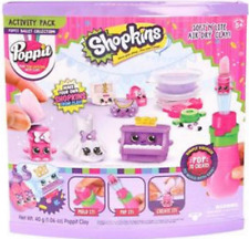 Poppit Shopkins Ballet Collection Activity Pack soft n Lite Air Dry Clay new in