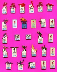 1996 ATLANTA OLYMPIC IBM PINS LOT #1 PICK A PIN 1-2-3- BUY ALL PINS 23