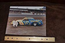 Photo of Dale Earnhardt Sr. at Daytona Wrangler #15 Racecar Picture 7 x 10